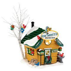 How Tweet It Is! Wild Bird Store, Snow Village (#0254)