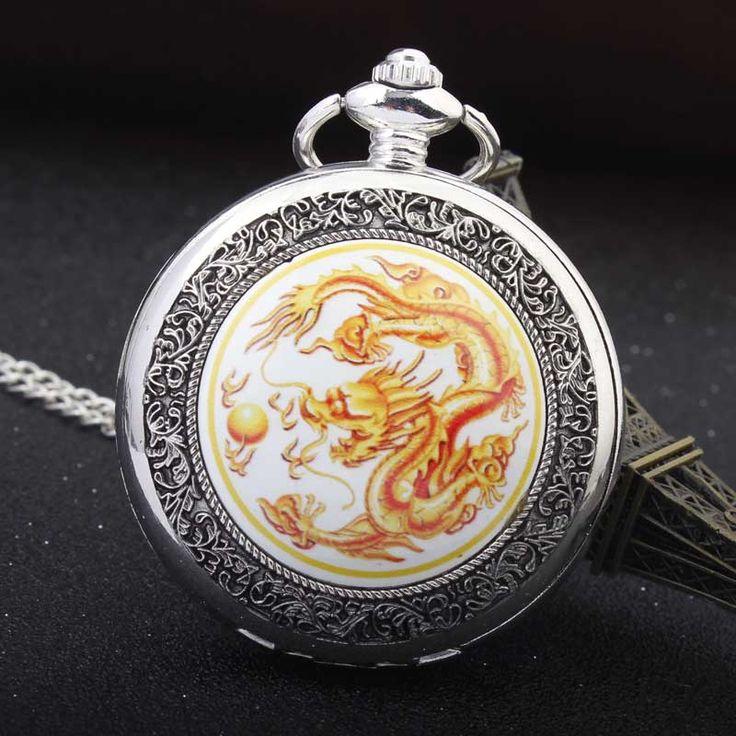 $4.50 (Buy here: https://alitems.com/g/1e8d114494ebda23ff8b16525dc3e8/?i=5&ulp=https%3A%2F%2Fwww.aliexpress.com%2Fitem%2FAntique-Vintage-China-Dragon-Play-Ball-Retro-Thick-Waist-Chain-Silver-Quartz-Pocket-watch-Men-s%2F32678274065.html ) Antique Vintage China Dragon Play Ball Retro Thick Waist Chain Silver Quartz Pocket watch Men's Women's Gift relogio De Bolso for just $4.50