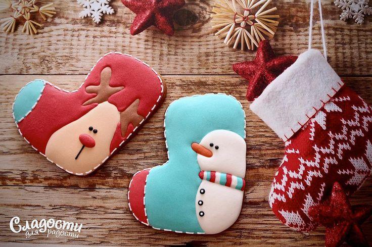 #подарок #печенье  #Снежинка #Ёлка #Новыйгод #Подарки #cake #пряник #Печенье #Выпечка #имбирныйпряник #снеговик #валянок #варежка #носок