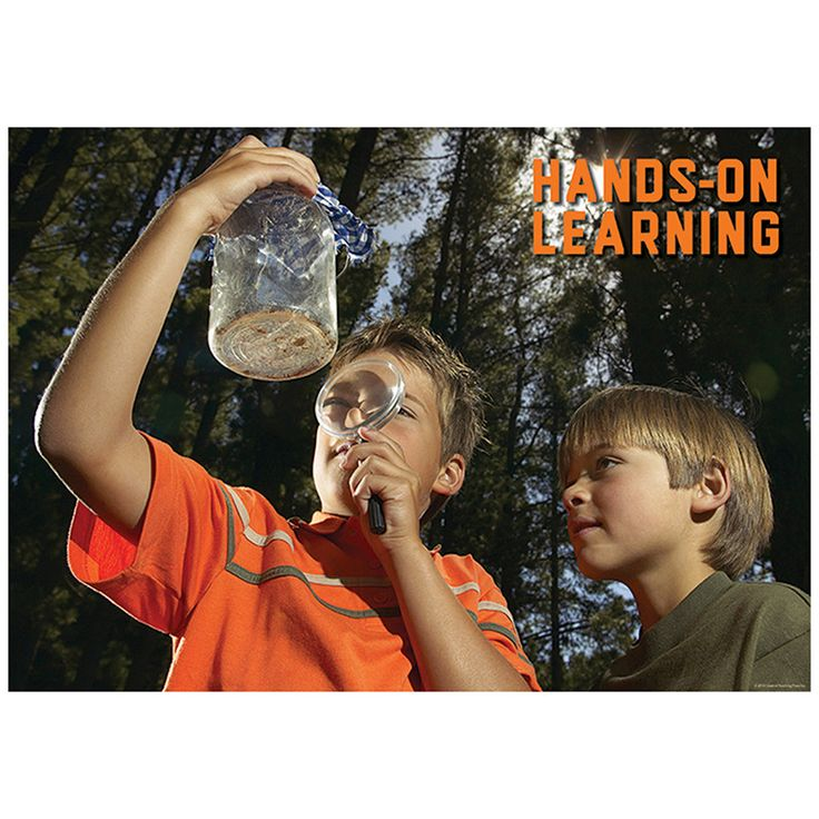 HANDS ON LEARNING POSTER
