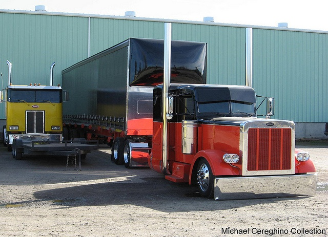 Another view of the Custom Peterbilt 379 belonging to JDT(James Davis Trucking) by Michael Cereghino (Avsfan118), via Flickr