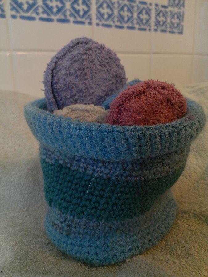 Alternative: Waschbare Pads Aus Baumwolle