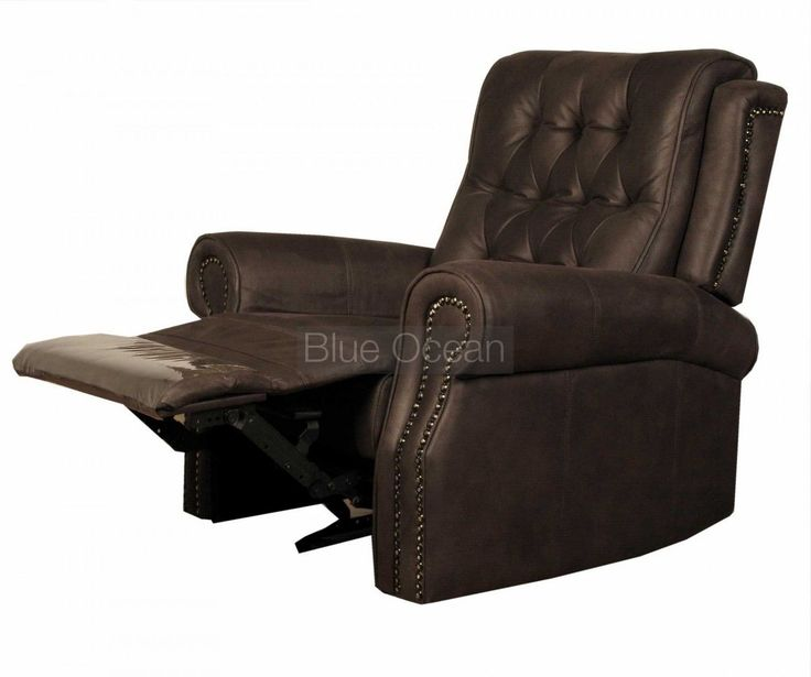 You work too much in the office every day.  Earn some relaxing moments every evening by watching the news on relaxed recliner leather #armchair. Feel the smooth soft leather on your arms.