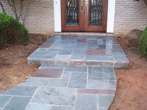 Stamped Concrete Screened Porches : Best images about back porch ideas on pinterest