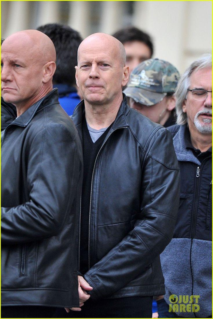 Bruce Willis: Red 2 Filming in Paris