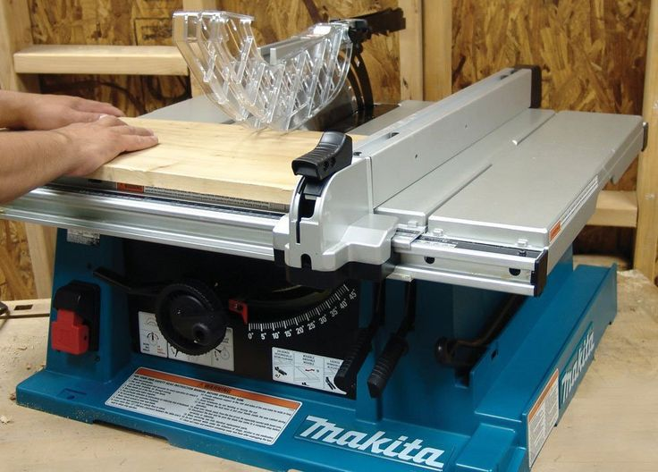 Makita 2705 review - Contractor Table Saw