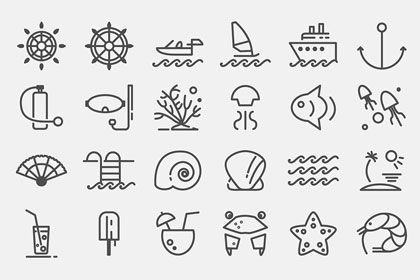 This free Travelling Icon Set containsfully scalable stroke icons, stroke weight 3.5 pt. Useful for mobile apps, UI and Web.This …