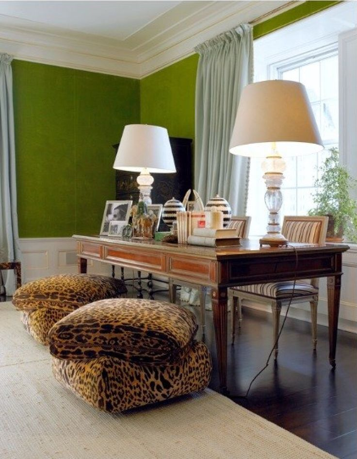 LOVE these ottomans!!