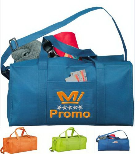 Our Advertising Gym Bag is made of None Woven, very suit for outdoor use. Large logo position, very suit to promo your goods.