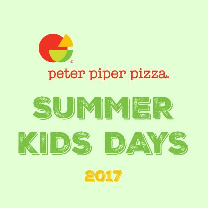 "Don't let your kiddos say they're ""bored"" this summer! Spend your Tuesdays at Peter Piper Pizza's Summer Kids Days! Kids Day is a recreational program for children 3-10 years old and will be held Tuesdays from June 13 to August 15 at participating El Paso and Las Cruses locations! The Kids Day program is included with the purchase ofContinue Reading →"