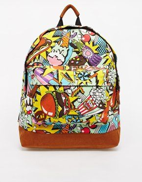 Mi-Pac Americana Backpack. A fun and practical bag. Great for holiday hand luggage. http://asos.to/1sH5oFm