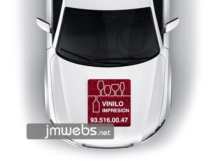 Rotulación de Coches con Vinilo de Impresión. Capó Motor. Precios en nuestra página web: http://www.jmwebs.net/rotulacion-de-vehiculos-coches.php o Teléfono 935160047