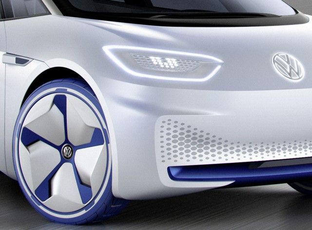 cool VW electric-car concept, Tesla Model S race car, National Drive Electric Week: Today's Car News