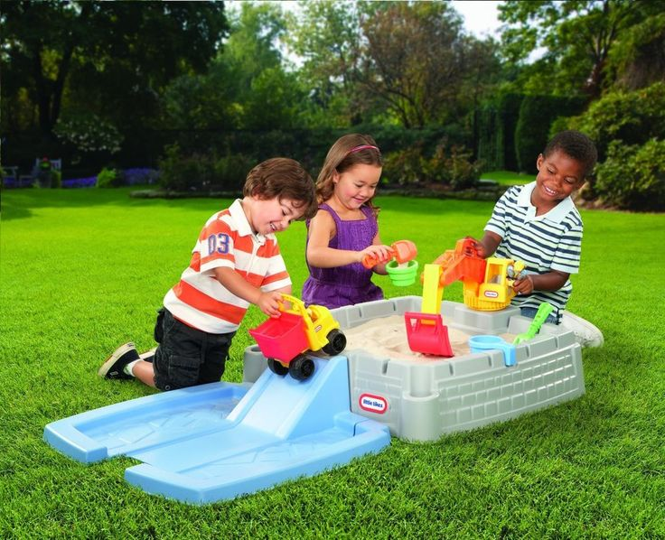 Little Tikes Sandbox Big Digger Kids Construction Toys Outdoor Backyard Fun New #LittleTikes