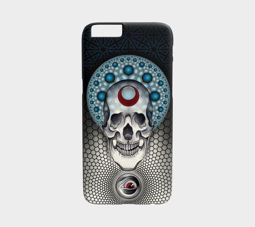 Geometric Skulldala Device Case by Kent King by Studio Phi Tattoos
