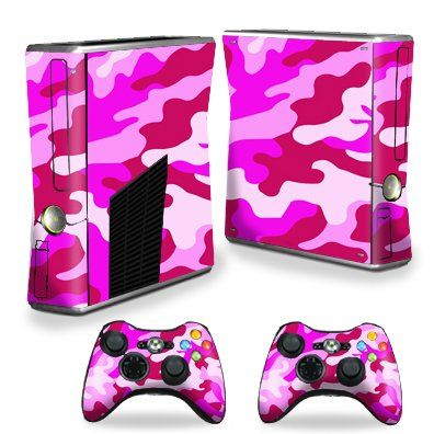 Best price on Protective Vinyl Skin Decal Cover for Microsoft Xbox 360 S Slim + 2 Controller Skins Sticker Skins Pink Camo //   See details here: http://xboxgamesstores.com/product/protective-vinyl-skin-decal-cover-for-microsoft-xbox-360-s-slim-2-controller-skins-sticker-skins-pink-camo/ //  Truly a bargain for the inexpensive Protective Vinyl Skin Decal Cover for Microsoft Xbox 360 S Slim + 2 Controller Skins Sticker Skins Pink Camo //  Check out at this low cost item, read buyers'…