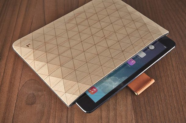 GrovemadeのiPad・MacBook用木製スリーブケース「Wood Sleeve collection」の紹介。