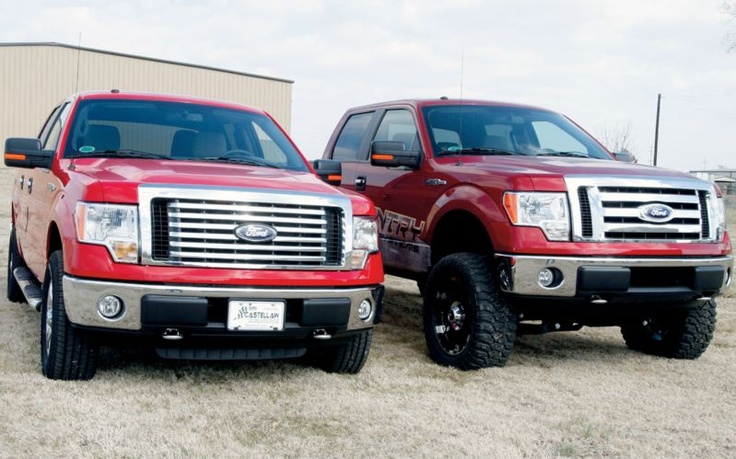 Rough Countrys 4 Inch Suspension Lift Stock And Lifted ...