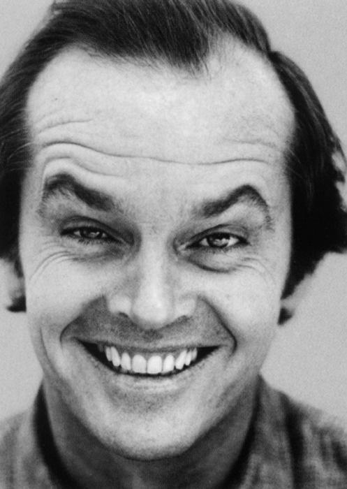 One flew over the cuckoos nest // Jack Nicholson