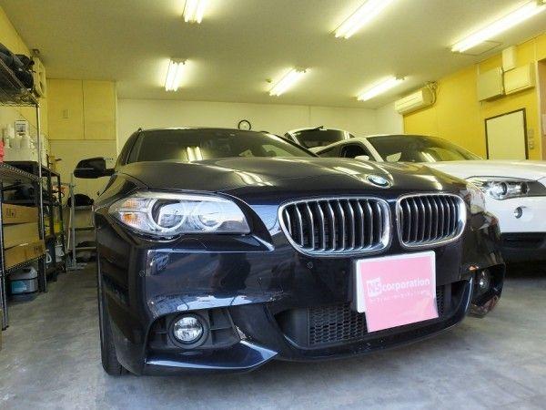 BMW 5シリーズ 99%UVカット ルミクールSD カーフィルム・スモークフィルム 施工