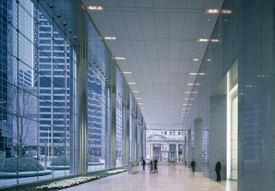 UBS Tower's Lobby, Chicago | The Blueprint's Product | Pinterest ...