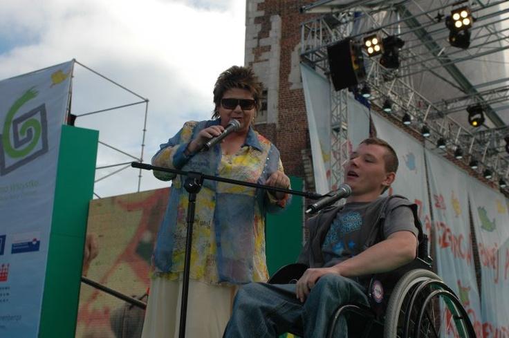 Festiwal Zaczarowanej Piosenki 2007 #zaczarowana scena: Adam Podsiad i Ewa Bem