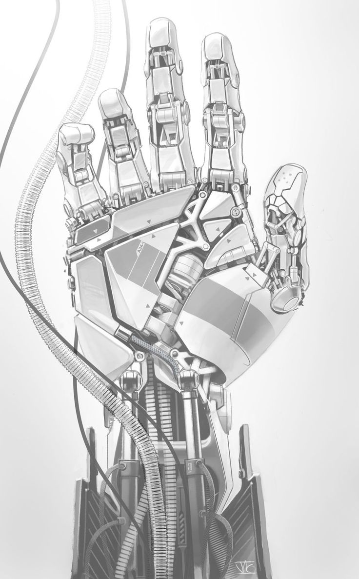 Mechanical Hand on Behance