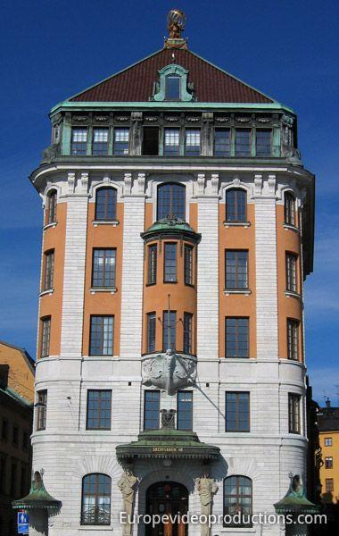 Gamla Stan, Stockholm Old Town in Swedish capital