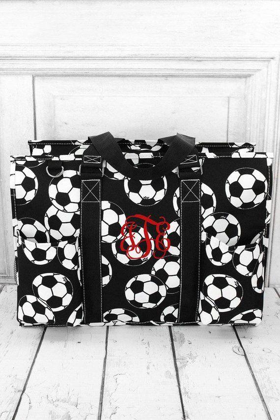 Soccer Ball Monogrammed Diaper Bag