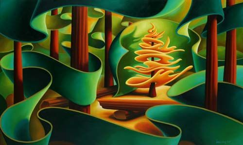 Dana Irving, Golden Spruce Tree