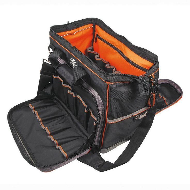 Klein Tools Tradesman Pro 17.5 In. Extreme Electrician's Tool Bag Tote Organizer #KleinTools