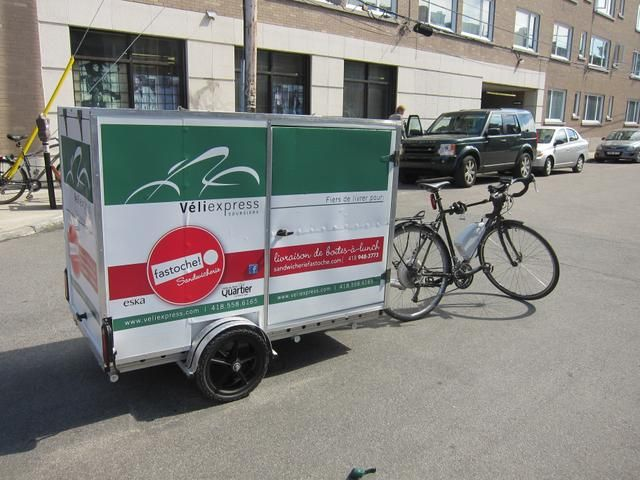 Bikes At Work Trailer Box box Bike Trailers Cargo