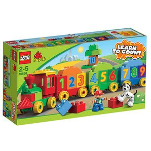 All aboard the Number Train to skill building! Hop aboard the Number Train where learning to count has never been so much fun! With numbered LEGO®...