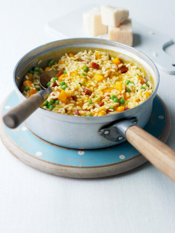 Ready in just 30 minutes, this risotto recipe is the perfect midweek supper.