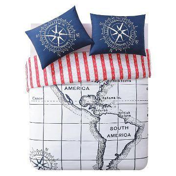 Nautical Duvet Cover Set - Seedlings by ThomasPaul®