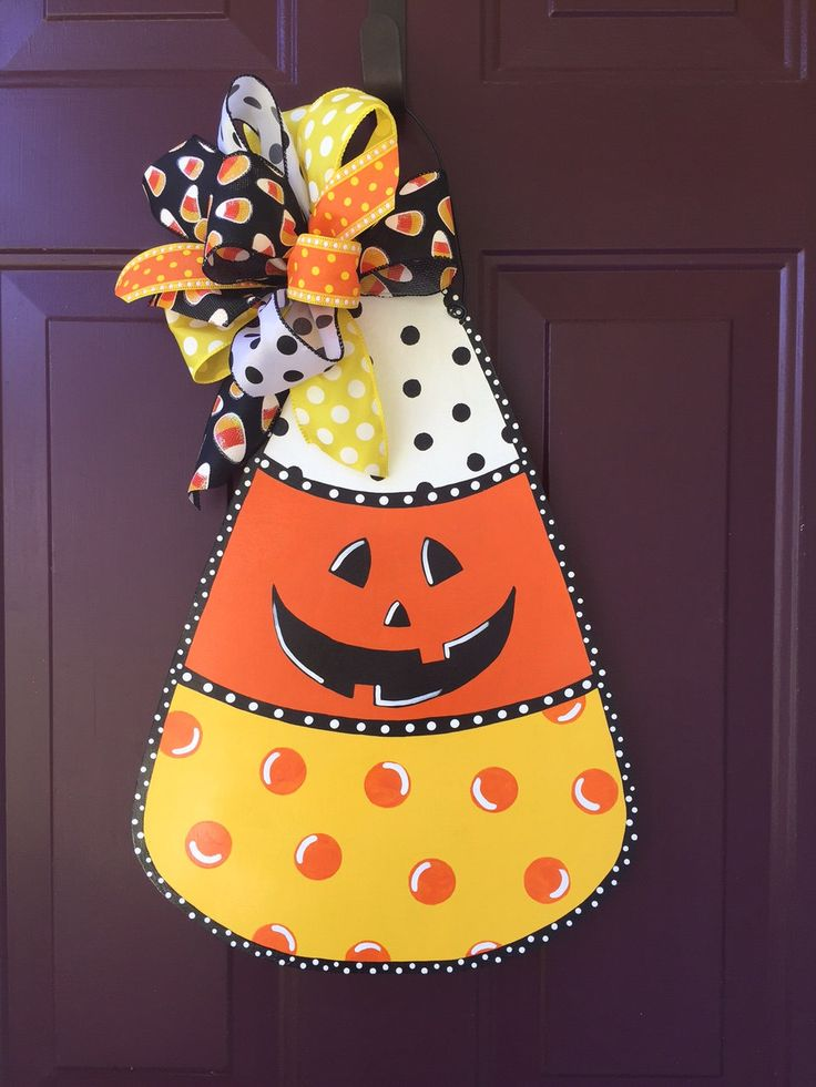 73 best Candy Corn Door Hangers images on Pinterest ...