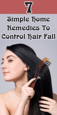 how to cure hair fall