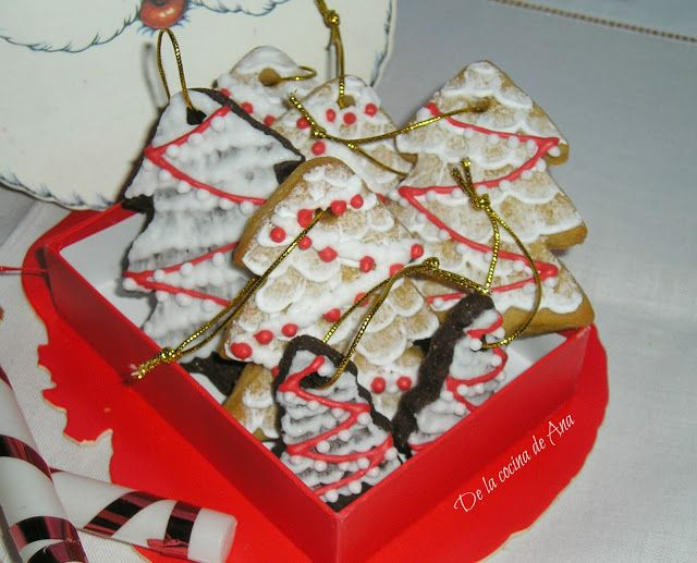 Galletas de Turrón Decoradas para Navidad (Thermomix)