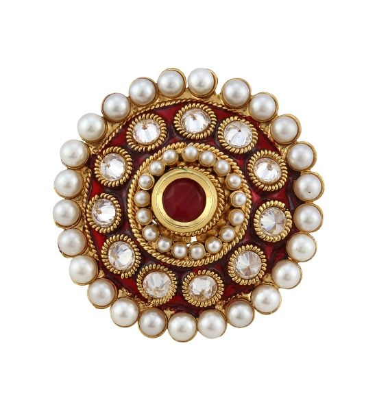 Buy Flaunt Luxury Traditional Rings online shopping India   Rings   best price 499