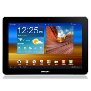 Explore unlimited possibilties with the thinner and lighter Samsung Galaxy Tablet P750.