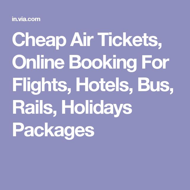 Cheap Air Tickets, Online Booking For Flights, Hotels, Bus, Rails, Holidays Packages