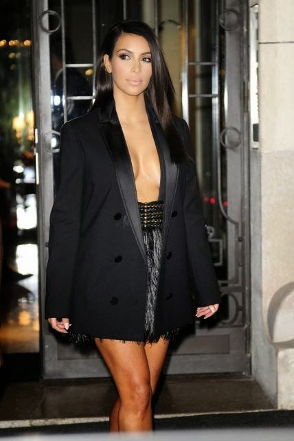 The Charm of Luxury: Kim Kardashian gli outfits alla Paris Fashion Week...