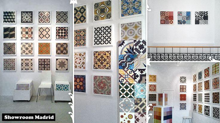 Mosaic del sur showroom madrid baldosas hidr ulicas carreaux ciment pi - Mosaic del sur paris ...
