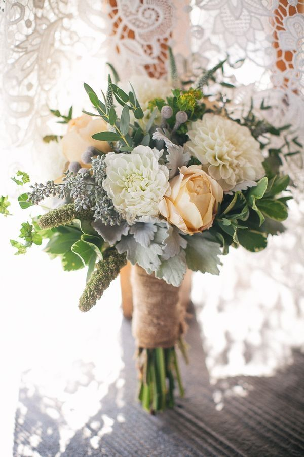 How to create a rustic wedding bouquet!