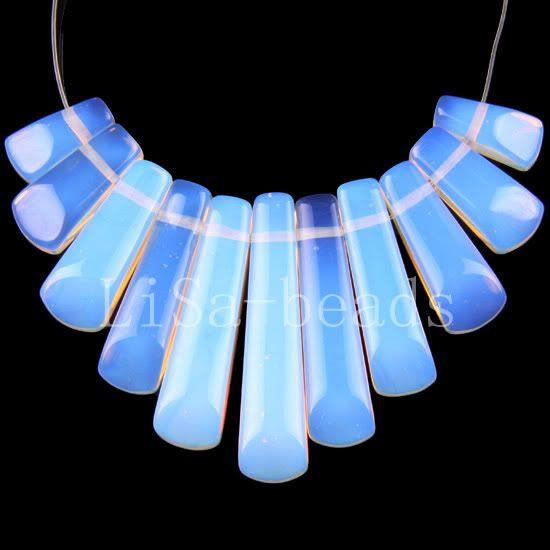 Free-Shipp-Mixed-Sandstone-Opal-Jasper-Malachite-Azurite-Beads-Pendant-Set-11Pcs