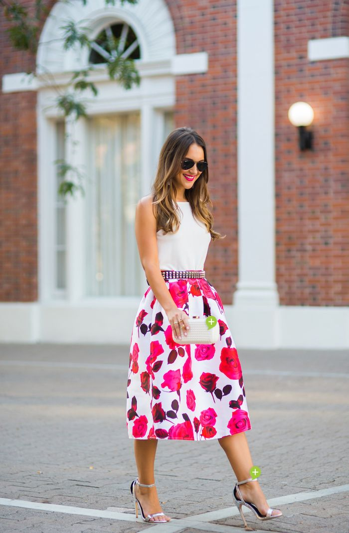 Floral Midi - Carrie Bradshaw Lied