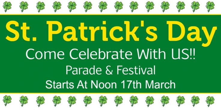 St ‪Patrick Day‬ is observed by Irish nationals around the world on 17 March. Best Offers on ‪‎Banner stand to celebrating the life and work for Unique way on St Patrick's Day for ‪Canada‬. http://www.bannerbuzz.ca/Newsletter/2015/march_1.html