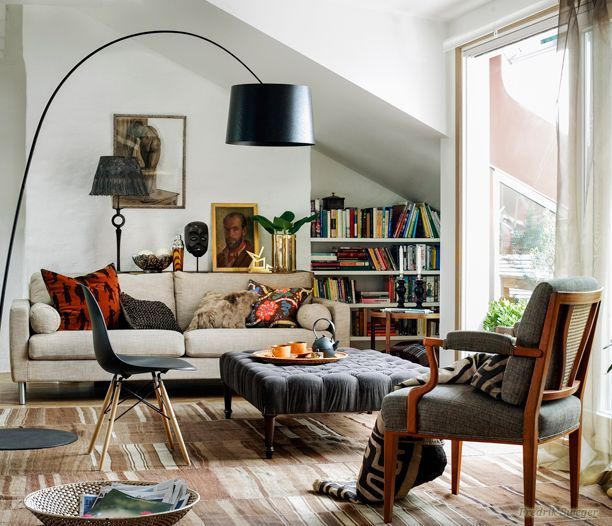Hipster Home Gilt Dwell Pinterest Spaces Living