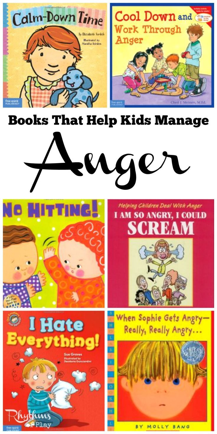 15 Books to Help Kids Manage Anger