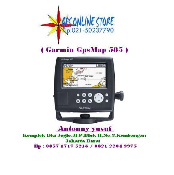 "GPSmap 585 adalah full-fungsi grafik plotter yang memiliki ultra-terang 5 ""warna WQVGA menampilkan bersama dengan fitur peningkatan kecepatan tinggi gambar peta dan panning. Sudah siap untuk pergi dengan antarmuka yang mudah digunakan dan built-in basemap di seluruh dunia. GPS 585 adalah grafik unik Garmin yang tidak hanya membekali dengan bahasa Inggris tetapi juga dengan bahasa Asia termasuk Cina Sederhana dan Bahasa Indonesia. GPSMAP 585 dirancang khusus untuk nelayan profesional."